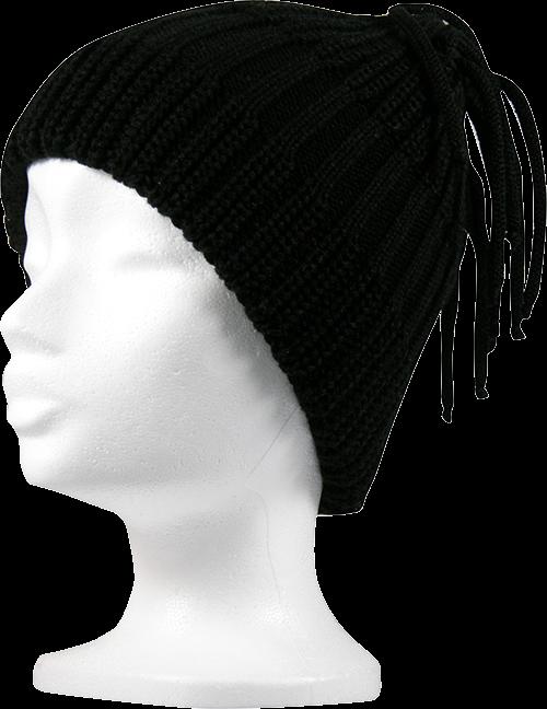 Dámská čepice venza černá velikost unisex, 1kus
