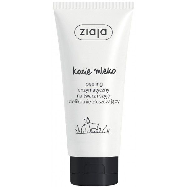 Kozí mléko enzymatický peeling na obličej a krk 75ml Ziaja