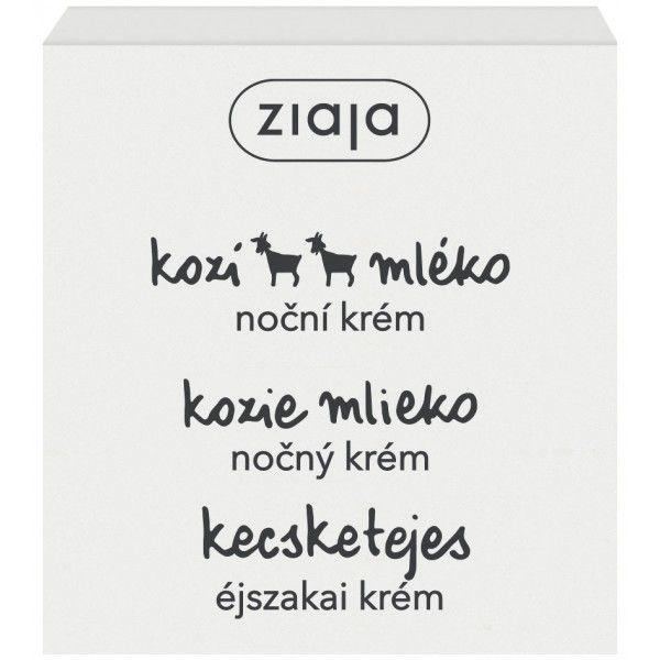 noční pleťový krém s kozím mlékem 50 ml Ziaja