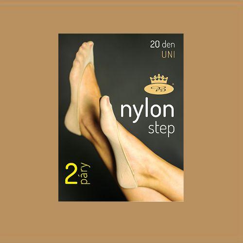 Nylonstep - ťapky beige velikost uni - balení 5 párů, 1kus
