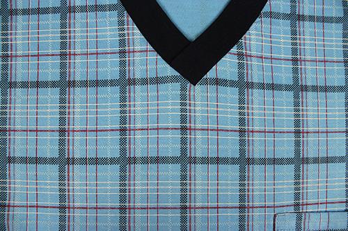 Pánská noční košile kája s dlouhým rukávem vzor 34 velikost XXL, 1kus