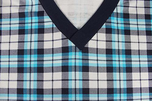 Pánská noční košile kája s krátkým rukávem vzor 60 velikost XXL, 1kus