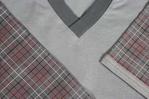 Pánské pyžamo kája s krátkým rukávem vzor 15 velikost M, 1kus