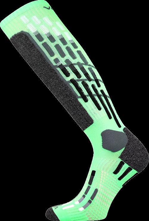 Podkolenky vxpres neon zelená velikost 29-31 (43-46), 1pár