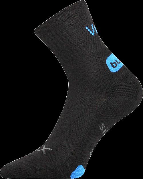 Ponožky aggresor černá velikost 29-31 (43-46), 1pár