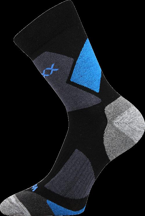 Ponožky avion černá velikost 23-25 (35-38), 1pár