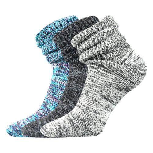 Ponožky berta mix B velikost 26-28 (39-42), 3páry