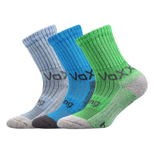 Ponožky bomberik mix C - uni velikost 23-25 (35-38), 3páry
