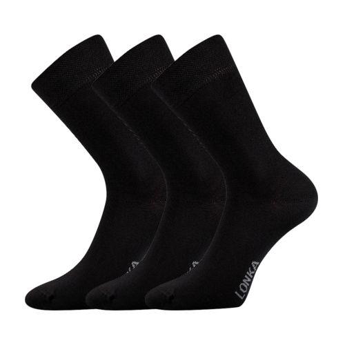 Ponožky defes černá velikost 29-31 (43-46), 3páry