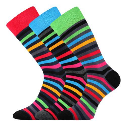 Ponožky deline mix velikost 29-31 (43-46), 3páry