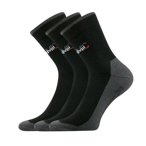 Ponožky dynamic a - ii černá II velikost 29-31 (43-46), 3páry