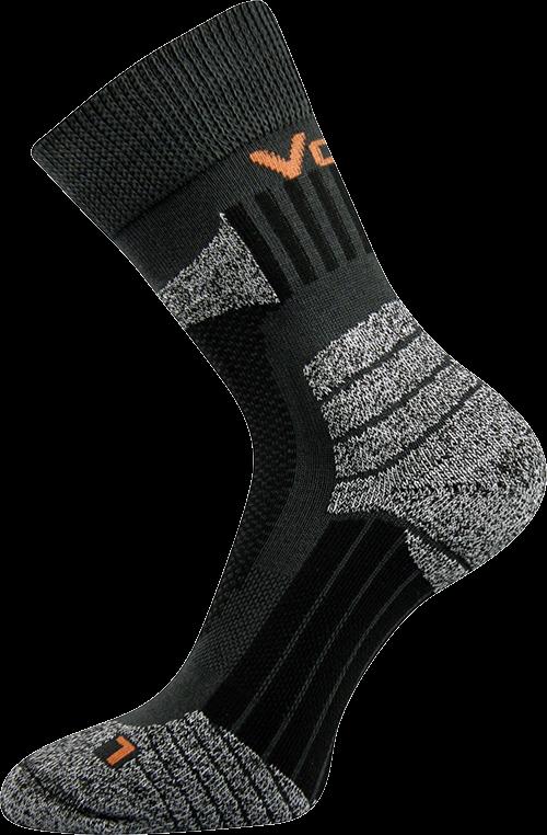Ponožky egoist tmavě šedá velikost 31-32 (47-48), 1pár