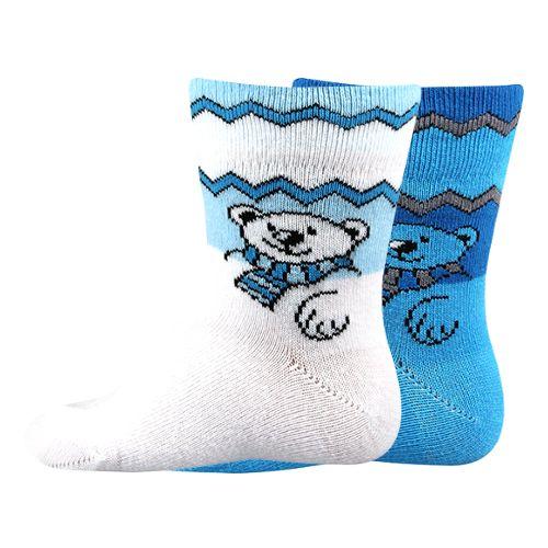 Ponožky emine mix kluk velikost 12-14 (18-20), 2páry