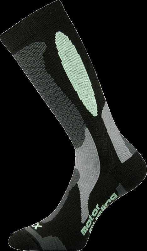 Ponožky engine černo-zelená velikost 29-31 (43-46), 1pár