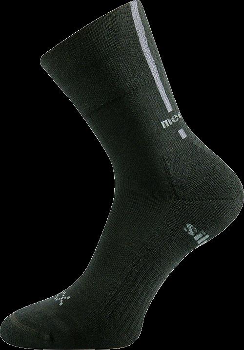 Ponožky enigma černá velikost 32-34 (48-51), 1pár