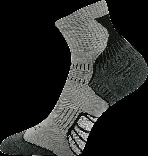 Ponožky falco šedá velikost 29-31 (43-46), 1pár