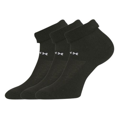 Ponožky fifu černá velikost 26-28 (39-42), 3páry