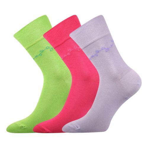 Ponožky folana 02 mix B 02 velikost 26-28 (39-42), 3páry