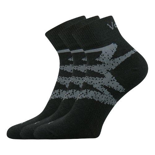 Ponožky franz ii černá II velikost 29-31 (43-46), 3páry
