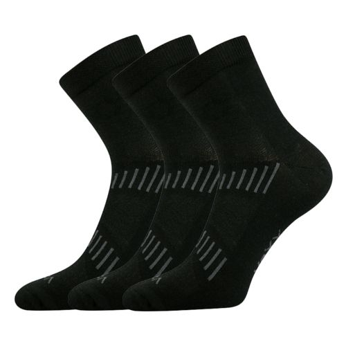 Ponožky fredy ii černá II velikost 32-34 (48-51), 3páry