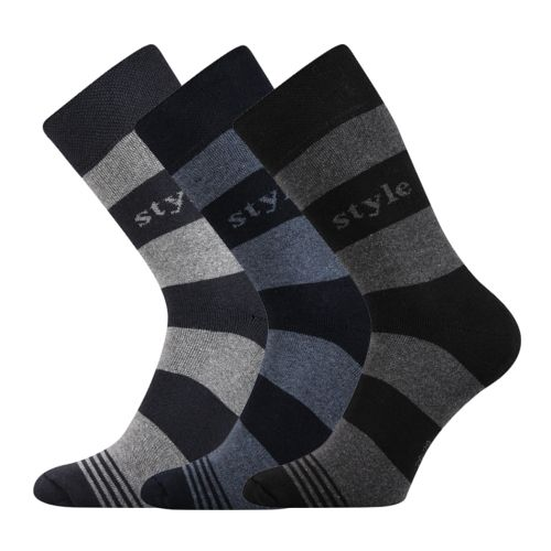 Ponožky gong mix 04 velikost 29-31 (43-46), 3páry