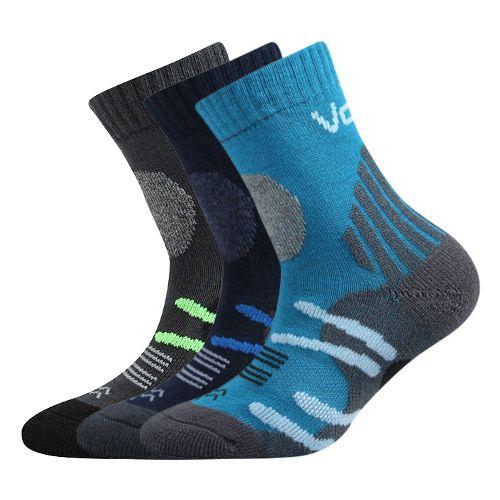 Ponožky horalik mix B - kluk velikost 23-25 (35-38), 3páry