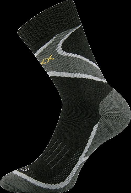 Ponožky inpulse černá II velikost 31-32 (47-48), 1pár