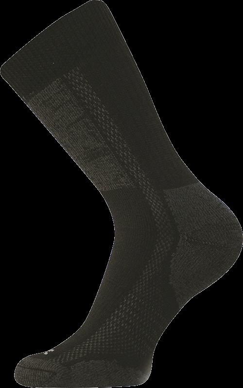 Ponožky introvert černá velikost 25-26 (38-39), 1pár