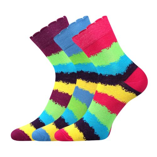Ponožky ivana 41 mix 41 velikost 26-28 (39-42), 3páry