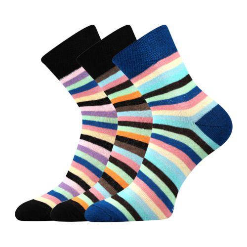 Ponožky ivana 42 mix 42 velikost 26-28 (39-42), 3páry