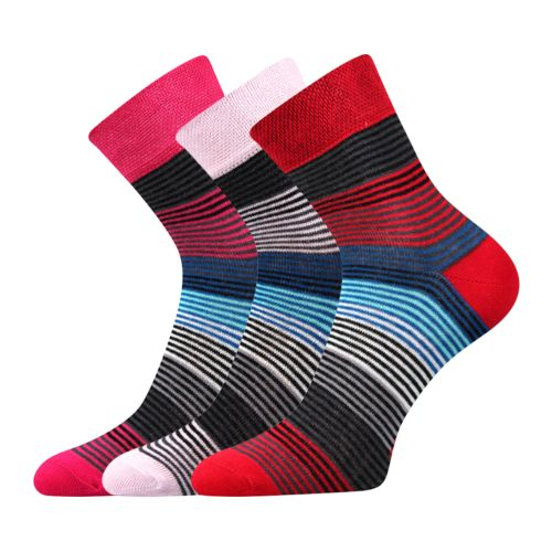 Ponožky ivana 43 mix 43 velikost 26-28 (39-42), 3páry