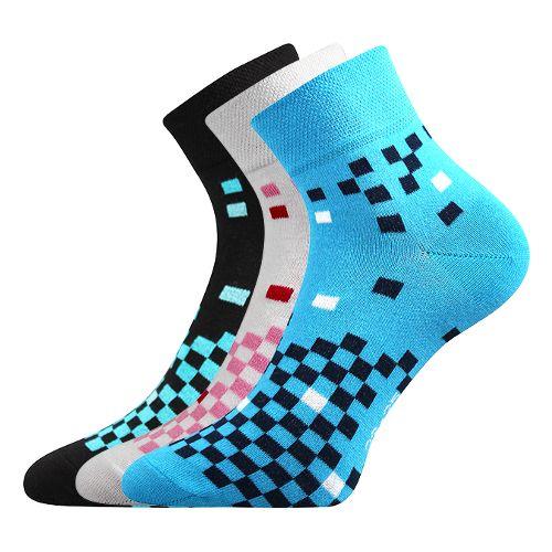 Ponožky jana 39 mix 39 velikost 26-28 (39-42), 3páry
