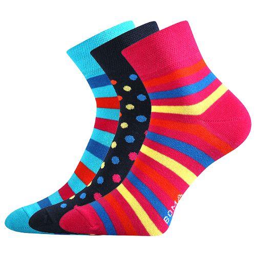 Ponožky jana 42 mix 42 velikost 26-28 (39-42), 3páry