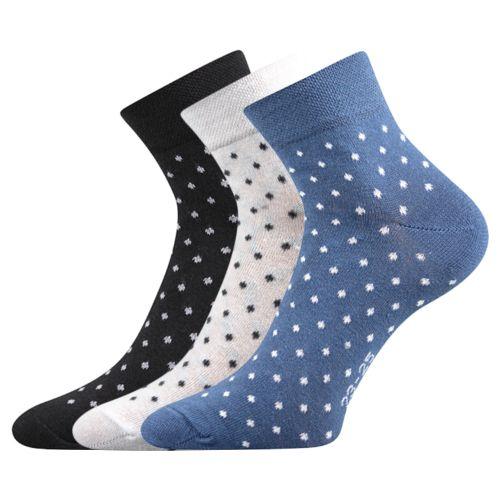 Ponožky jana 43 mix B velikost 26-28 (39-42), 3páry