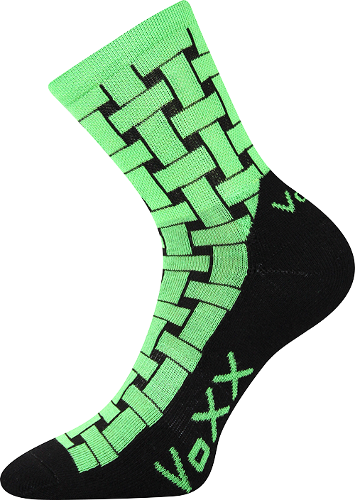 Ponožky jeff zelená velikost 29-31 (43-46), 1pár