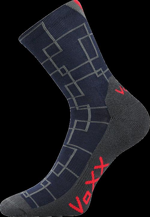 Ponožky jessy tmavě modrá velikost 29-31 (43-46), 1pár