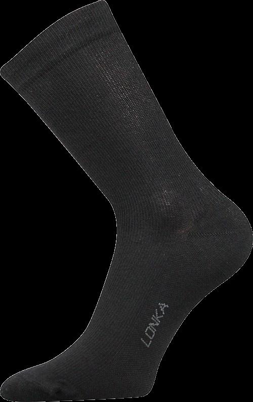 Ponožky kooper černá velikost 29-31 (43-46), 1pár