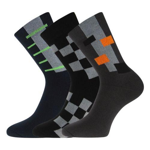 Ponožky koskana 01 mix 01 velikost 26-28 (39-42), 3páry