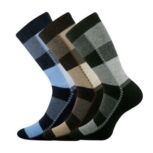 Ponožky koskana 02 mix 02 velikost 26-28 (39-42), 3páry