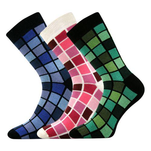 Ponožky koskana 04 mix 04 velikost 26-28 (39-42), 3páry