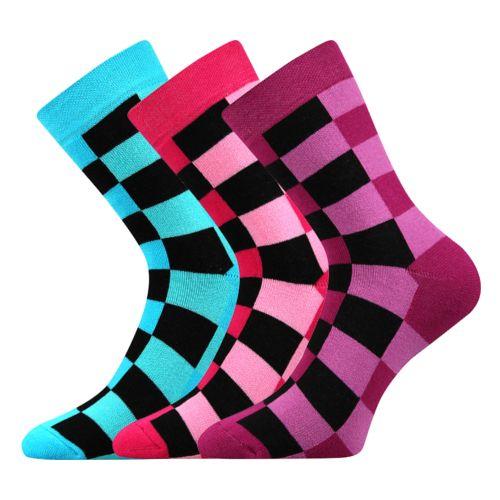 Ponožky koskana 05 mix 05 velikost 26-28 (39-42), 3páry