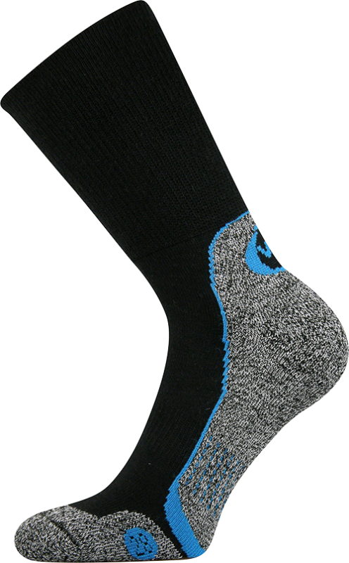Ponožky lector černá velikost 29-31 (43-46), 1pár