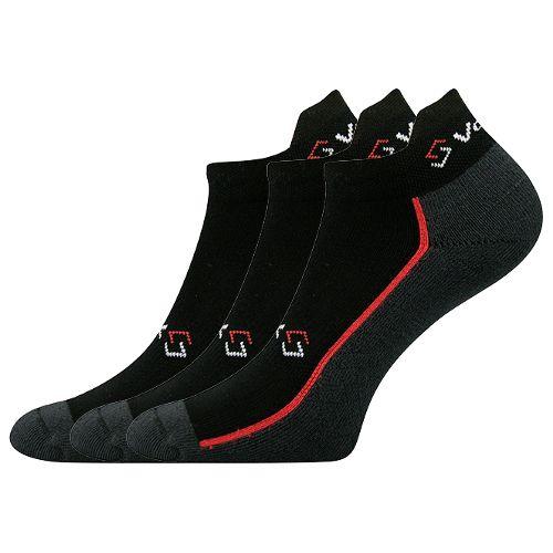 Ponožky locator a černá velikost 29-31 (43-46), 3páry