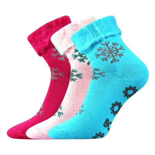 Ponožky lujza mix velikost 26-28 (39-42), 3páry