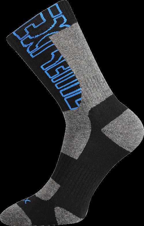 Ponožky matrix černá velikost 29-31 (43-46), 1pár