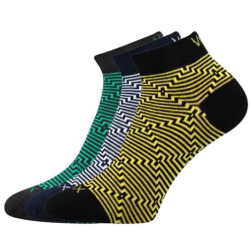 Ponožky maxim 01 mix B velikost 29-31 (43-46), 3páry