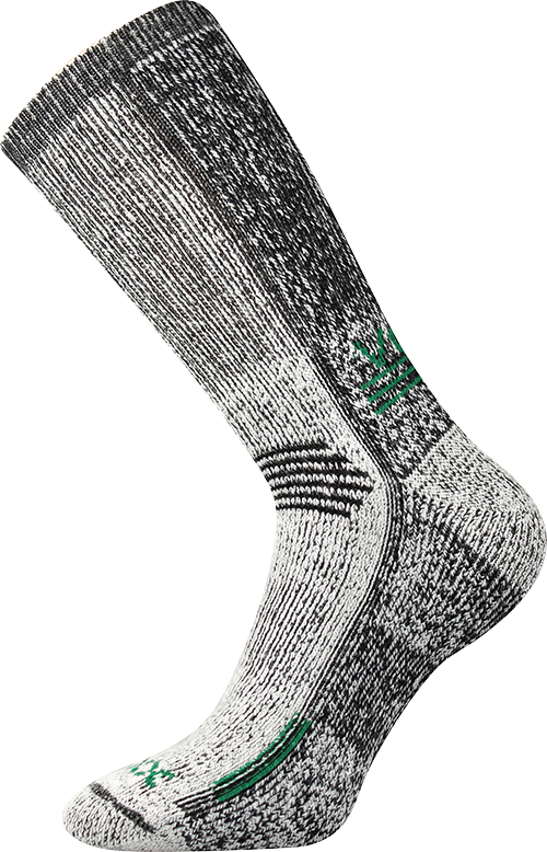 Ponožky orbit zelená velikost 29-31 (43-46), 1pár