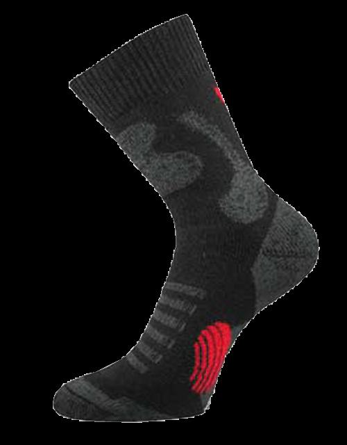 Ponožky outlast navigátor černo - tmavě šedá velikost 31-32 (47-48), 1pár