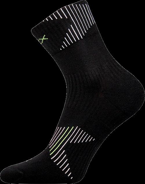 Ponožky patriot b černá velikost 29-31 (43-46), 1pár