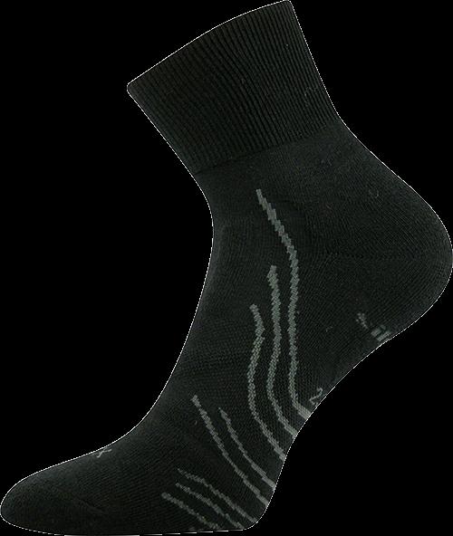 Ponožky phantom černá velikost 23-25 (35-38), 1pár